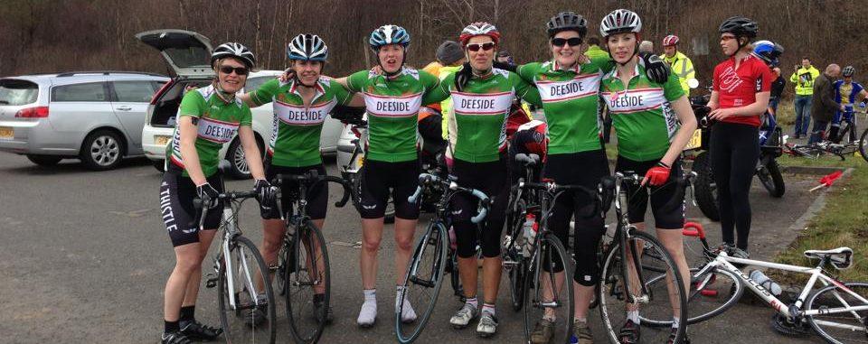 group of female deeside members